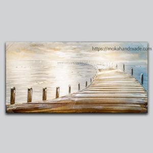 tranh noi son dau Aluminium Sea Bridge (1)