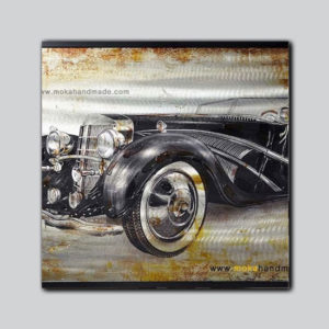 tranh-noi-son-dau-ban-thu-cong-aluminium-black-car