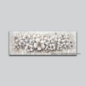 tranh noi son dau flowers