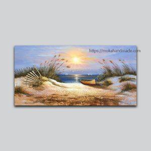 tranh noi son dau sunrise